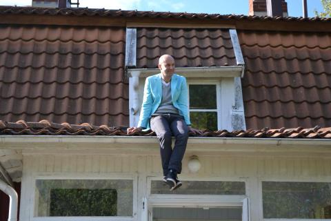 Mark Levengood invigningstalar i Vimmerby
