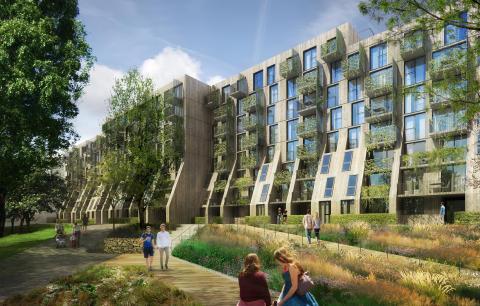 Kan dette bli Oslos grønneste bygård?