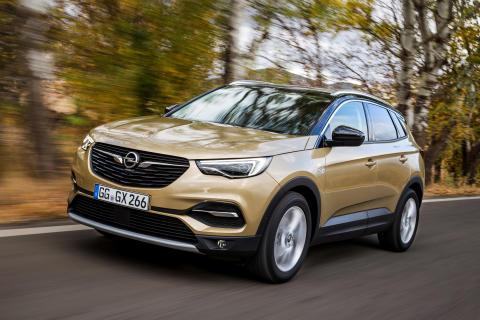Nya Opel Grandland X nu tillgänglig med toppdiesel och ny exklusiv utrustningsnivå