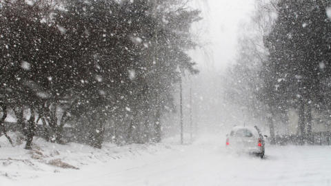 Bad weather conditions in Europe - causing delays for parcels