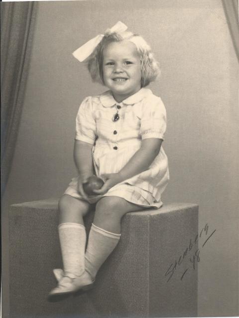 Kari Rosvall (Barnet från ingenstans) 4 år