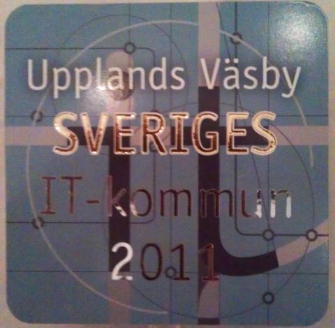 Väsby blev Sveriges IT kommun 2011
