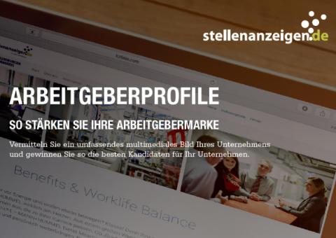 Arbeitgeberprofil von stellenanzeigen.de: einfach authentisch kommunizieren