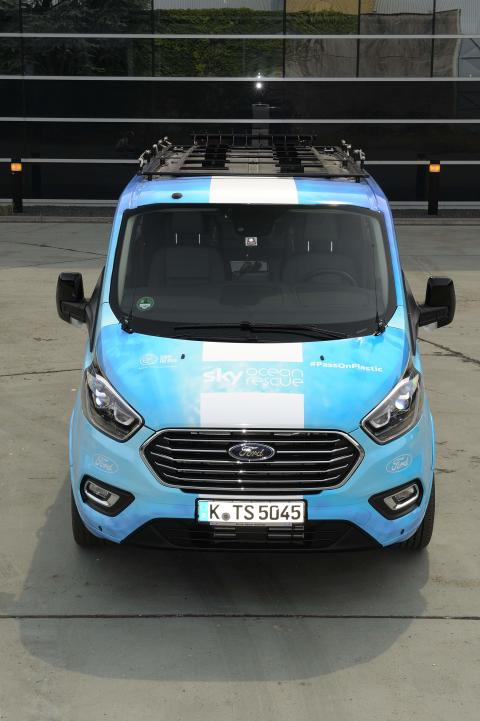 Ford Tourneo Custom Team Sky 2018  Tour de France