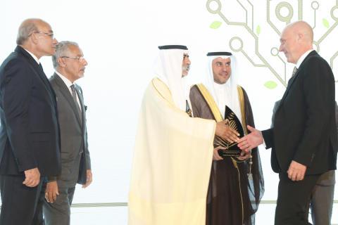Hans Hassle awarded the Khalifa International Award for Agricultural Innovation