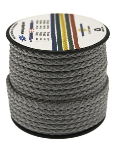 Poly-Light-8 grå, 4 mm x 12 m, spole