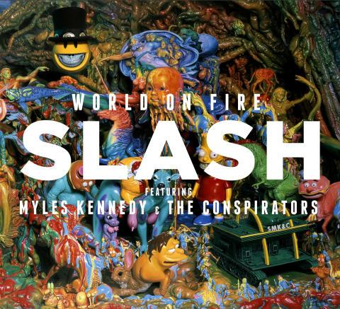 Slash med nytt album i september