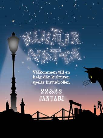 Kulturnatta 22-23 januari 2016