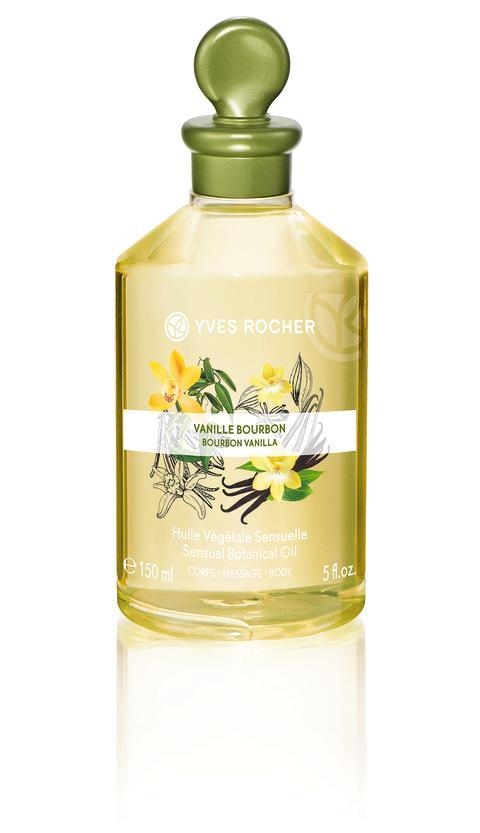 Bourbon Vanilla Sensual Botanical Oil Body & Massage