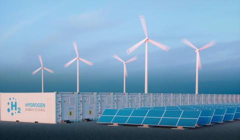 Bundesforschungsministerium fördert grünen Wasserstoff