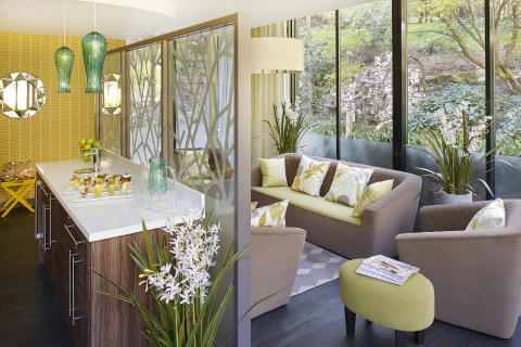 Hideaway from it all with friends at Aqua Sana Longleat Forest