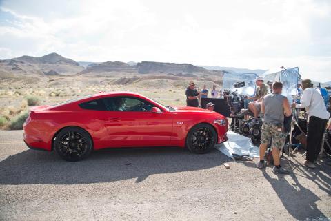 """Ny Ford Mustang debuterer i filmen """"Need for Speed"""""""