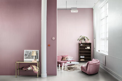 Eco Mix Metallic - Mauve and Deep Mauve