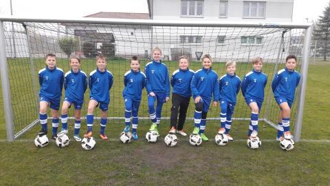 Neue Bälle für die D-Jugend des FC Weißensee 03 e. V.