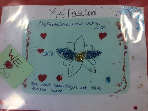 Card from Florina Pastina's pupil 01