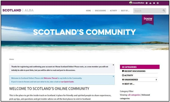Time to harness Community #ScotSpirit.