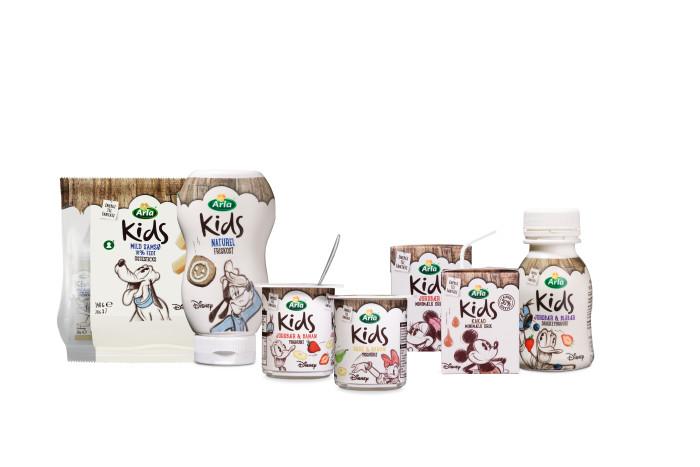 Gør madpakken lidt sjovere med Arla Kids og Disney
