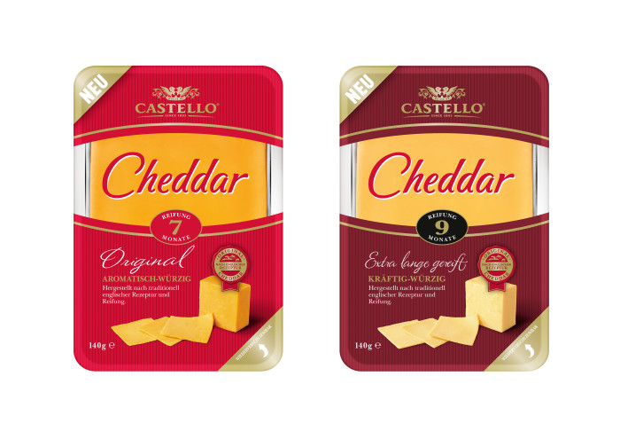 Castello® Cheddar – Premiumgenuss nach englischer Rezeptur