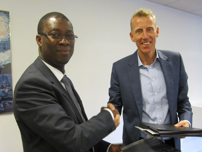 First joint venture partner found in Africa