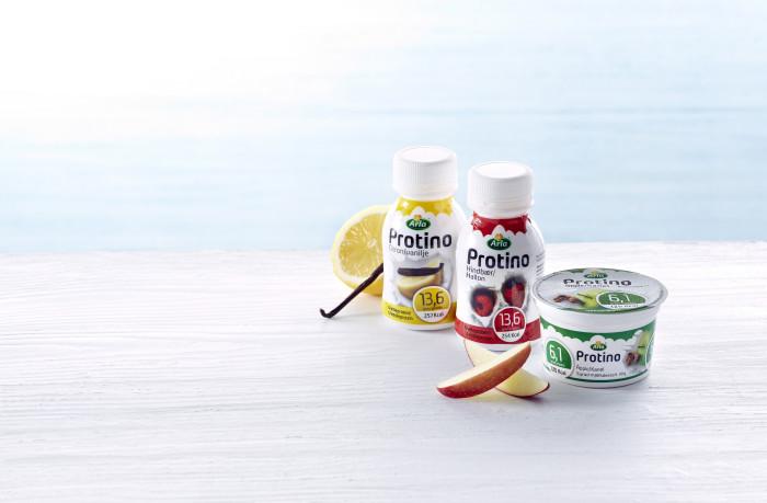 Arla lanserar proteinrika och goda produkter för personer med liten aptit