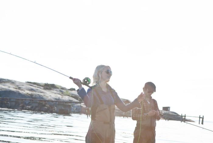 1,6 miljoner svenskar fritidsfiskar - och andelen kvinnor ökar