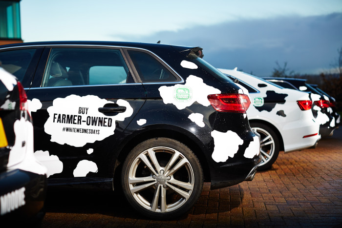 ​Driving Support for Arla Farmers with 'Cowpany Cars'