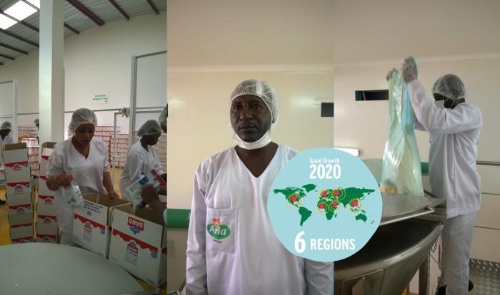 Arla eröffnet neuen Produktionsstandort im Senegal