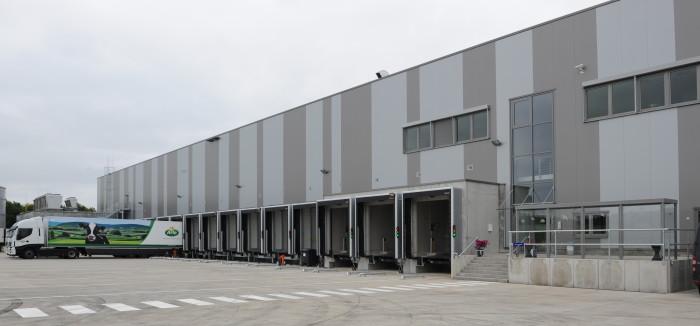 Neues Kühllager in Heidenau: DSV und Arla Foods feiern Eröffnung
