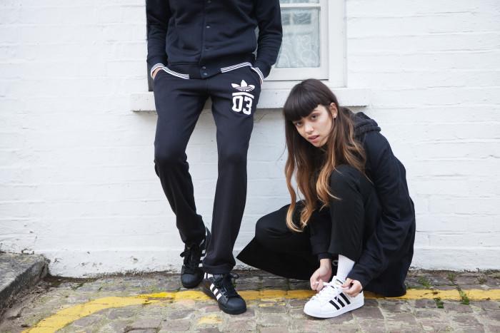 Adidas Superstar Skor Dam