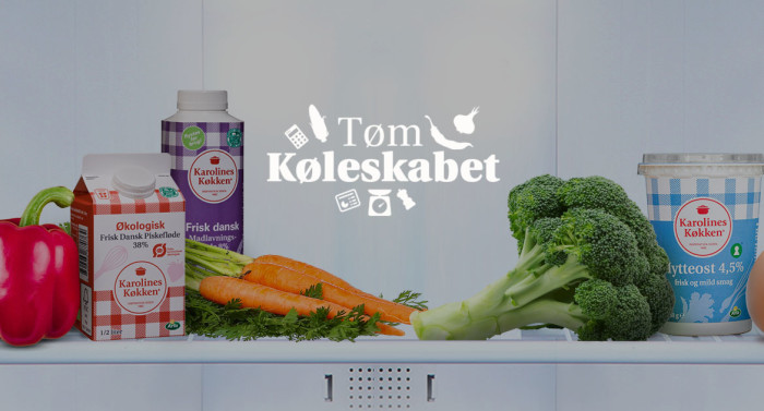 Karolines Køkken vil hjælpe danskerne med at bruge råvarerne i køleskabet