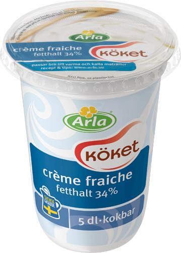 Återkallelse av Crème Fraiche 500 gram (artikelnummer 8254, bäst före-datum 17-18 juli 2016)