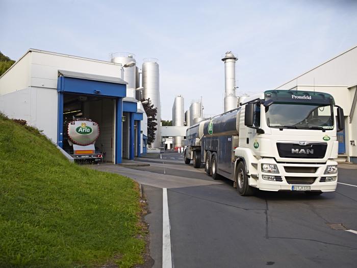 Arla Landwirte erzeugen deutlich weniger Milch