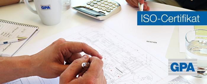 GPA Flowsystem AB har blivit ISO-certifierade enligt ISO 9001:2015 och ISO 14001:2015