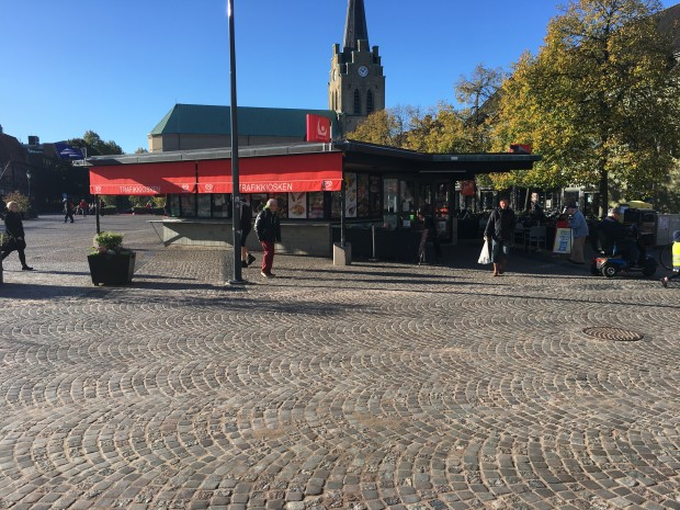 Trafikkiosken i Halmstad blir Pressbyrån
