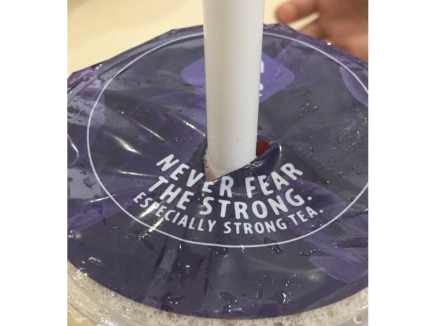 Bagging a tea slogan lands agency in hot water