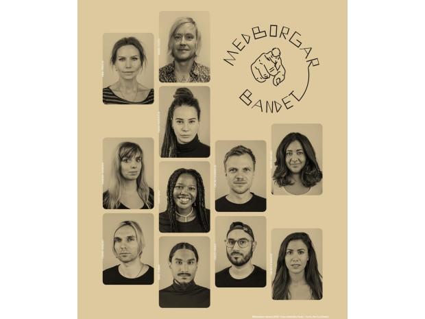 Medborgarbandet med Nina Persson i spetsen kommer till Kulturens hus i valtider