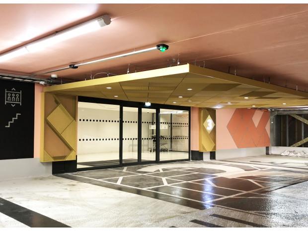 Parkeringshuset i Danderyd Centrum står klart!