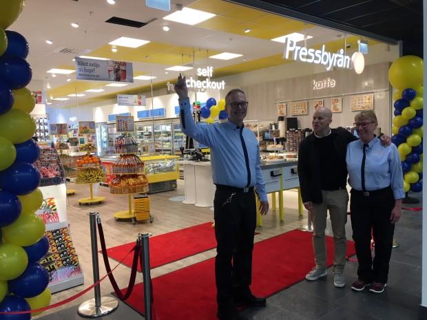 Pressbyrån öppnar ny butik på Nya Karolinska