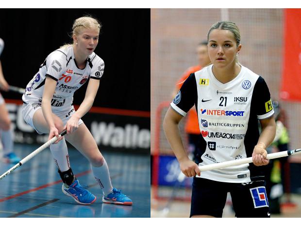 Två debutanter på damlandslagets VM-läger