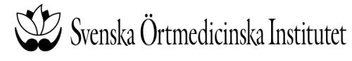 Svenska Örtmedicinska Institutet Aktiebolag
