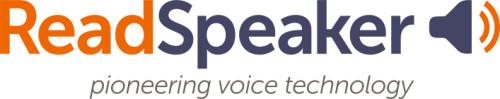 ReadSpeaker - vi ger ditt innehåll en röst!