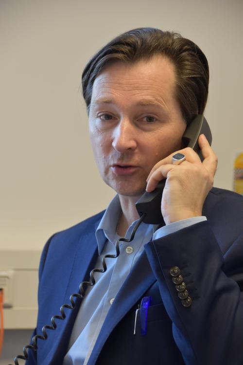 Zum Newsroom von Sven-David Müller