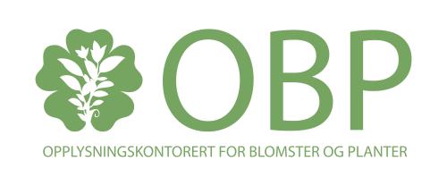 Link til OBP - Opplysningskontoret for blomster og planters presserom