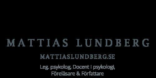 Gå till Mattias Lundbergs nyhetsrum