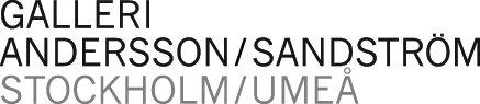 Gå till Galleri Andersson/Sandströms nyhetsrum