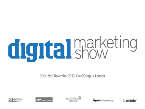 Go to Digital Marketing Show's Newsroom