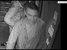 CCTV of the assault