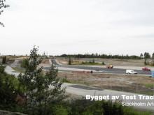 Bygget av Test Track 1 sommaren 2012 - på 35 sekunder