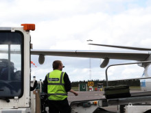 Göteborg Landvetter Airport - bagagelastning plattan