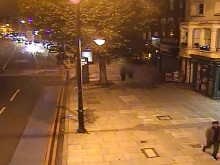 CCTV footage of the man police would like to trace